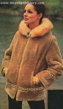 Fake Fur Sport Coat 1971