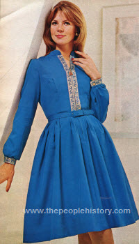 Dreamy Shirtdress 1972