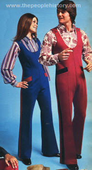 His and Hers Jump Suits 1972
