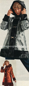 Hooded Czarina Pant Coat 1972