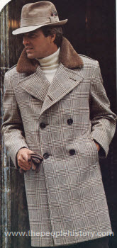 Double Breasted Wool Coat 1973