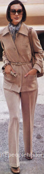 Ladies Pants Suit 1973