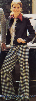 Polyester Jacket and Checked Pants 1973