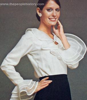 Ruffle Fantasy Shirt 1973