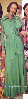 Two Piece Ban-Lon Dress 1973
