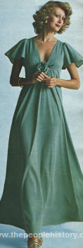 Draped Long Dress 1975