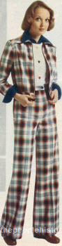 Plaid Jacket and Pants 1975