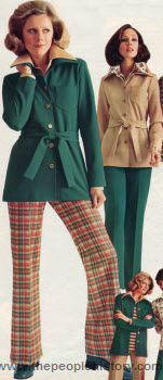 Polyester Knit Separates 1975