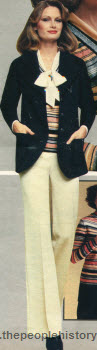 Blazer, Pants and Sweater 1976