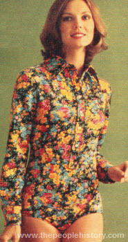 Seventies Fashion Clothing From 1976 Including Dresses