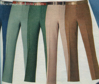 Polyester Flared Slacks 1976