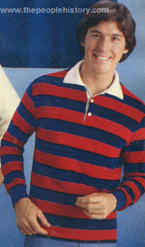 Rugby Style Pullover 1976