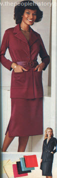 Belted Jacket and Skirt 1979