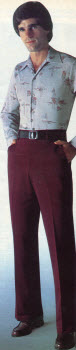 Burgundy Slacks 1979