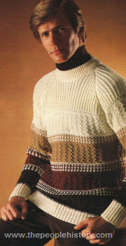 Striped Crewneck Sweater 1979