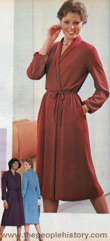 Super Suede Wrap Dress 1979
