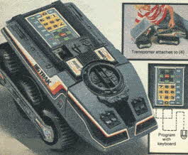 Big Trak Programmable Vehicle From The 1980s
