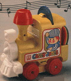 Casey Jones Musical Train From The 1980s