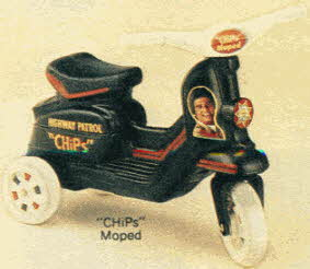 CHiPs Moped Bike From The 1980s