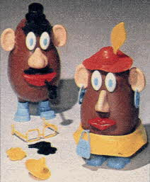 Mr. and Mrs. Potato Head From The 1980s