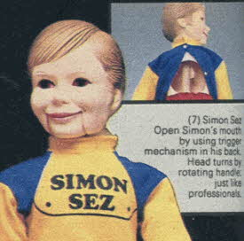 Simon Sez Ventriloquist Dummy From The 1980s