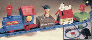 Snoopy Train Set From The 1980s