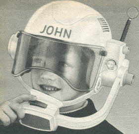 Space Helmet Walkie Talkie From The 1980s