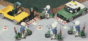 Highway Patrol Playset From The 1980s