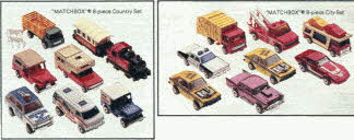 Matchbox Car Sets
