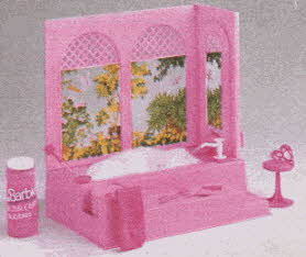 Barbie Bubble Bath From The 1980s