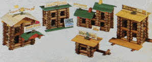 Classic Lincoln Logs From The 1980s