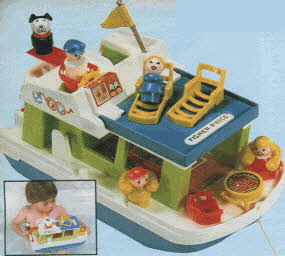 Fisher Price Houseboat From The 1980s