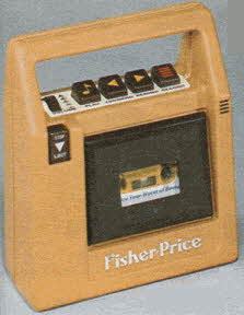 Fisher Price Tape Recorder From The 1980s