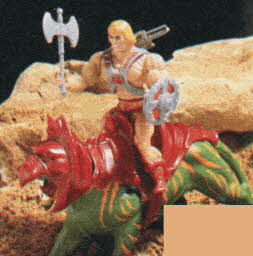 He-Man Action Figure From The 1980s