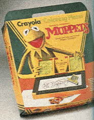 Crayola Muppets Coloring Plates From The 1980s