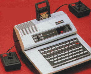 Odyssey 2 Video Game System From The 1980s