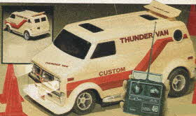 Radio-Controlled Thunder Van From The 1980s