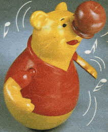 Roly Poly Pooh From The 1980s