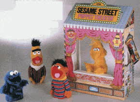 Sesame Street Puppet Theater From The 1980s