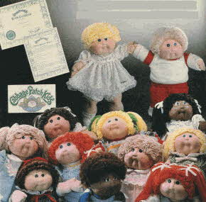 Cabbage Patch Kids From The 1980s