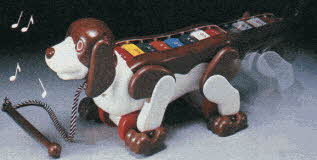 Dog Xylophone From The 1980s