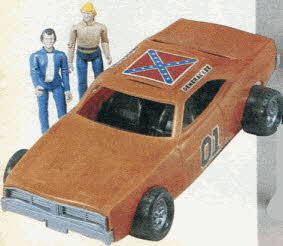 Dukes of Hazzard Figure Set From The 1980s