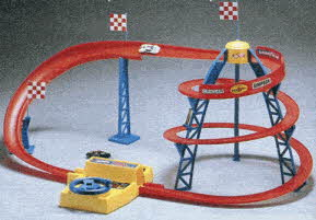 Hot Wheels Spiral Speedway From The 1980s