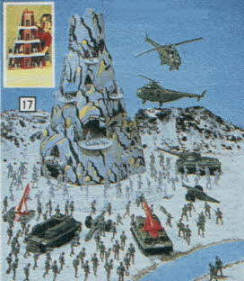 Mountain Fortress From The 1980s