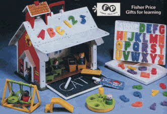 Play Family Schoolhouse From The 1980s