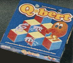 Q*bert Game From The 1980s