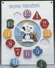 Snoopy Shape Clock From The 1980s