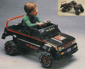 The A-Team Pedal Car From The 1980s