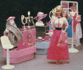 Barbie Dream Store Fashion Department From The 1980s