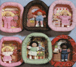 Cabbage Patch Pin-Ups From The 1980s